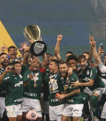 Palmeiras lança livro comemorativo do título paulista de 2020