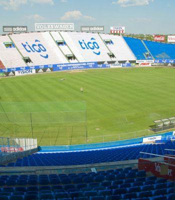 Por gramado diferente, Libertad altera local de jogo contra o Palmeiras