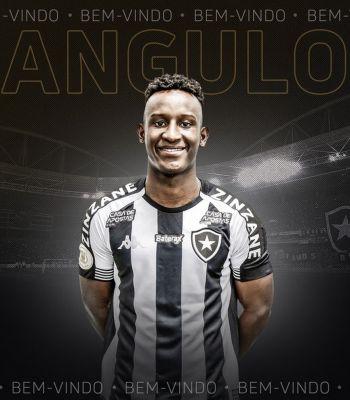 Iván Angulo é emprestado ao Botafogo